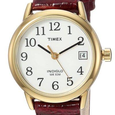 Timex Women Indiglo Easy Reader Quartz Analog Watch